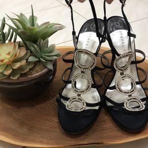 Ivanka Trump black blingy heels
